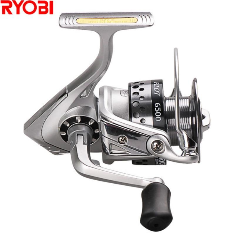 100% RYOBI NAVIGATOR 1500-6500 série moulinet de pêche en rotation 7BB/5.1: 1 bobine en V carpe bobines Molinete Para Pesca Carretilha