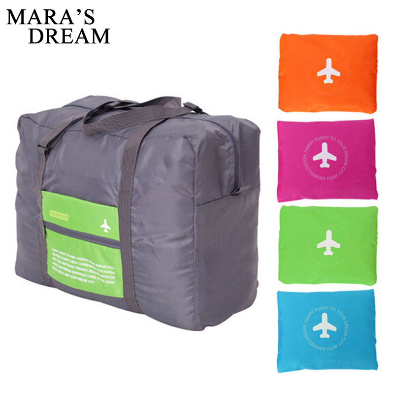 Mara's Dream Fashion WaterProof Travel Bag Large Capacity Bag Women Polyester Folding Bag Unisex Luggage Travel Handbags