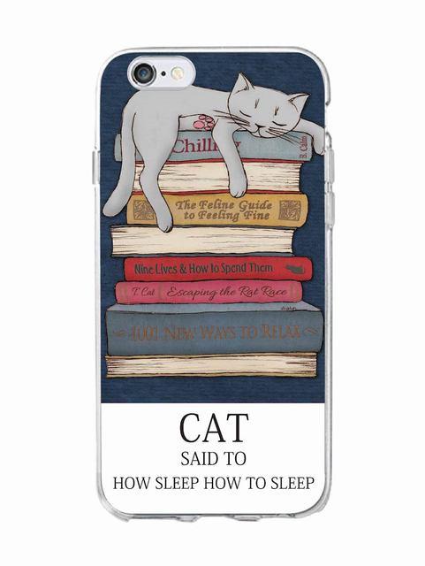 Cute Cat Soft Phone Cases