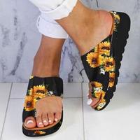 Летние сандалии; женские вьетнамки на танкетке; женская пляжная обувь; сандалии на платформе; женские сандалии; Sandalias Mujer; 2019