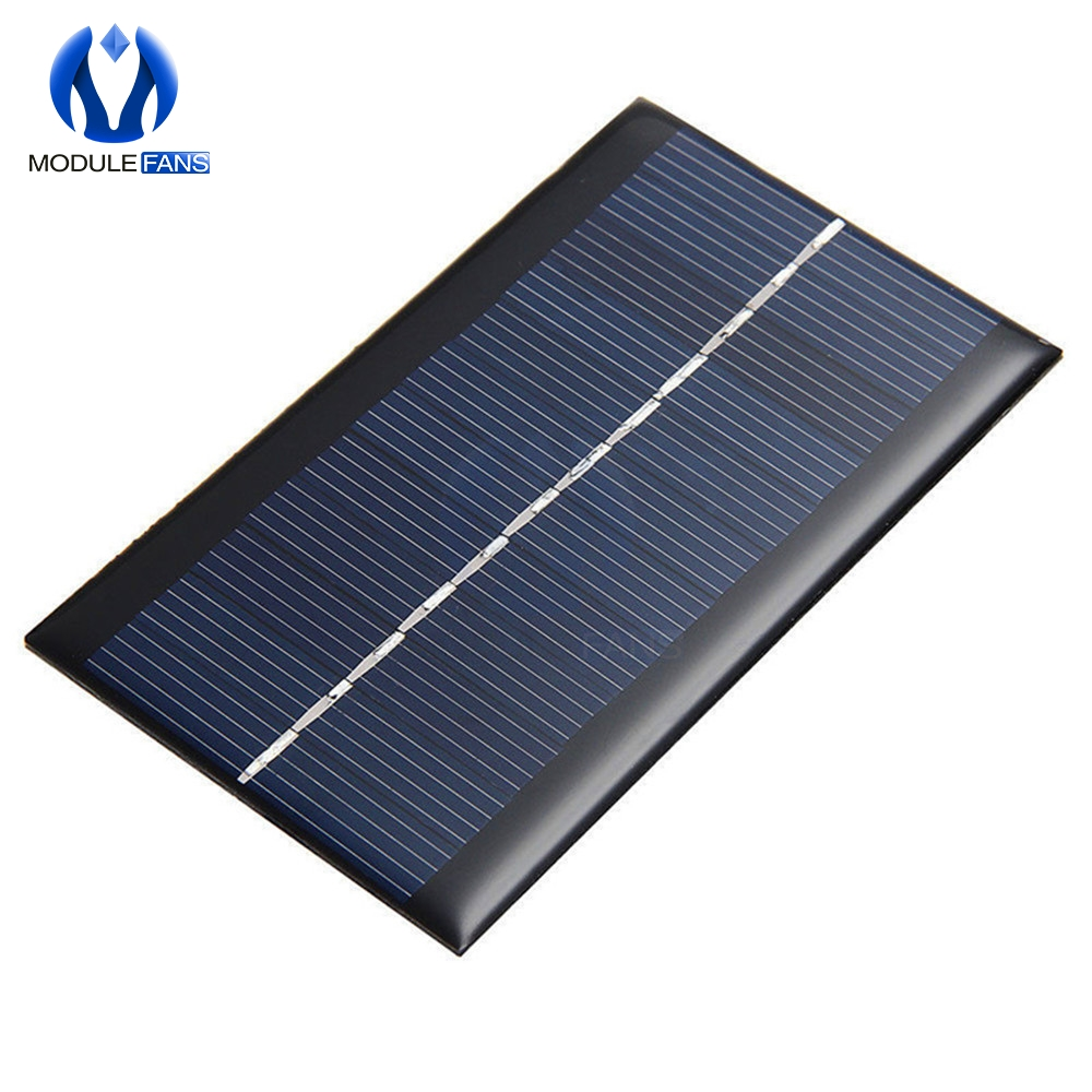 Integrated Circuits Mini 6v 1w Solar Panel Bank Solar Power Board Module Portable Diy Power For Light Battery Cell Phone Toy Chargers Electronic Components & Supplies