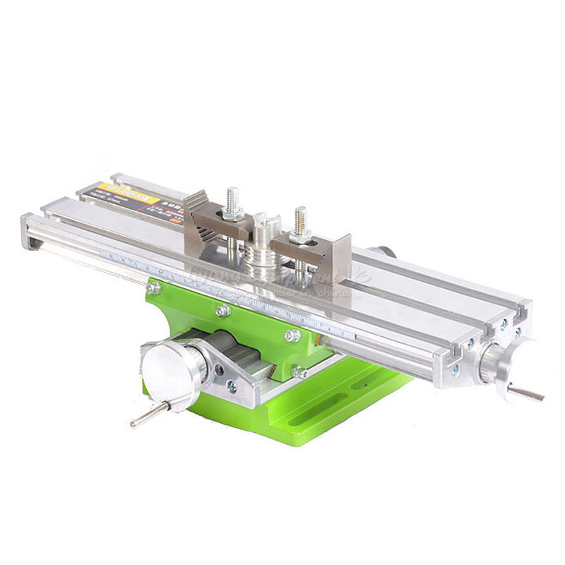 LY 6330 Miniature precision multifunction CNC router Bench drill Vise Fixture worktable X Y-axis adjustment Coordinate table ly 6350 mini precision multifunction cnc router machine bench drill vise fixture worktable x y adjustment coordinate table