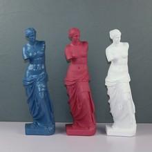 Venus De Milo Large Resin Statue Aphrodite Goddess Statue Masterpiece Replica Crafts Modern Sculpture Table Home Decor Ornaments