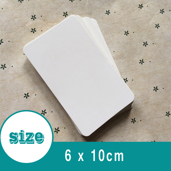 6cm 10cm white paper jams blank flash cards diy personalized 6cm 10cm white paper jams blank flash cards diy personalized bookmarks notes greeting cards host m4hsunfo