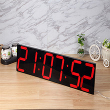 Retro mute wall clock living room Jane antique hanging table American country nostalgic office digital bell