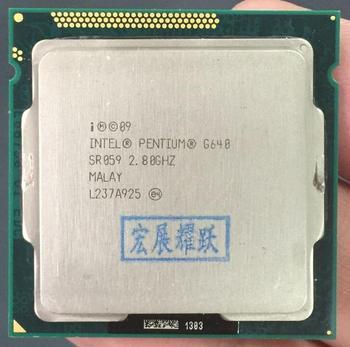 Versand kostenloser Intel CPU Pentium G640 3 M Cache, 2,80 GHz LGA 1155 TDP 65 W PC Computer Desktop CPU