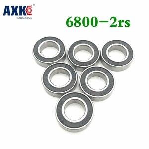Axk 6800-2rs подшипник Abec-1 (10 шт.) 10x19x5 мм Метрическая тонкая секция 6800 2rs Подшипники 61800 Rs 6800rs