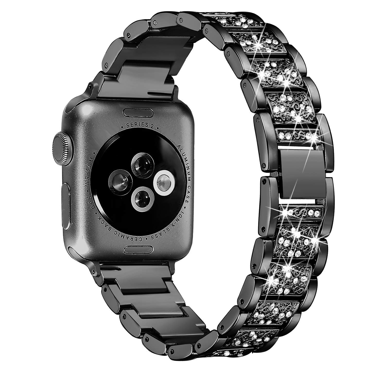Women Diamond Band for Apple Watch 15
