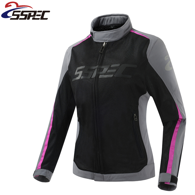 Women Summer Mesh Motorcycle Jacket Motocross motorcycle Protective Gear Auto Racing Coat Off Road Clothing Outdoor Sportswear