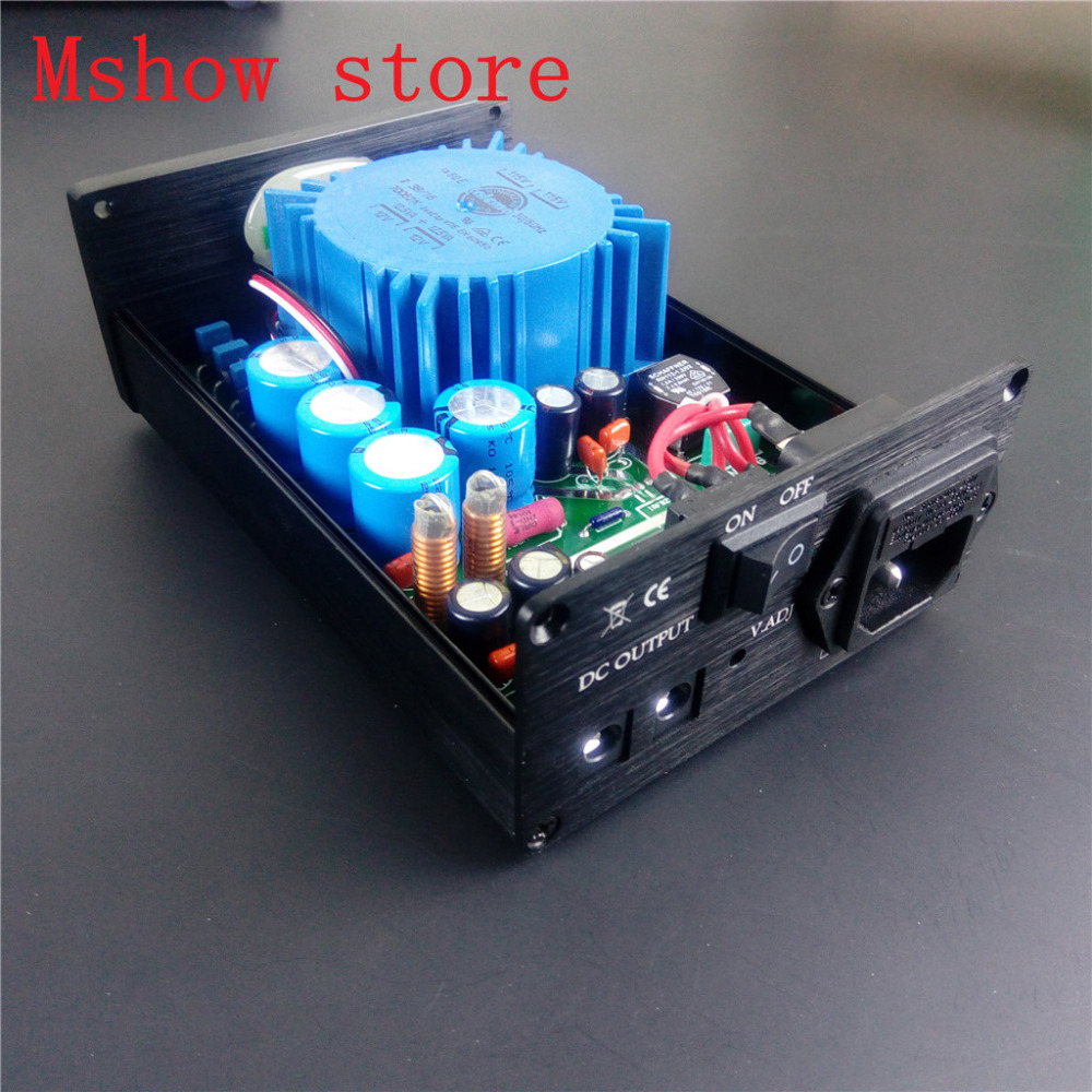 Mshow P2 25VA upgrade Talema Ultra Low Noise Linear Power Supply psu output DC 15V 18V