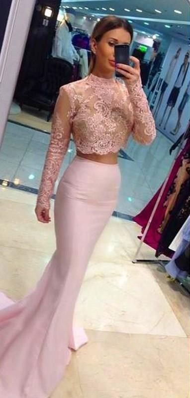 2016 New Design 2 in 1 Prom Dress Prom Dresses Party Gown Mermaid Floor-Length Vestidos De Festa Long Evening DressTH961