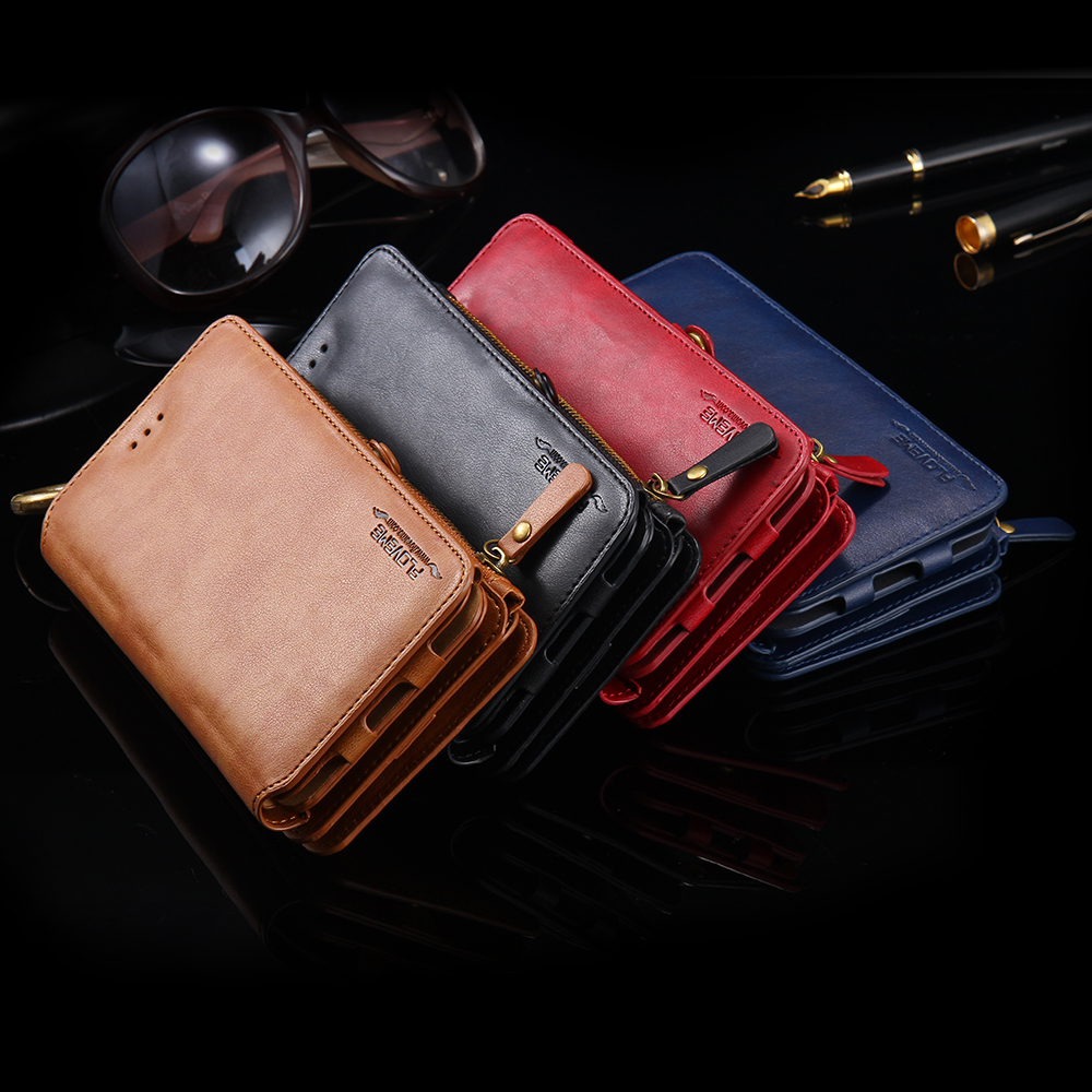 iphone 5 wallet cases retro business leather wallet phone for iphone 6s 6 3072