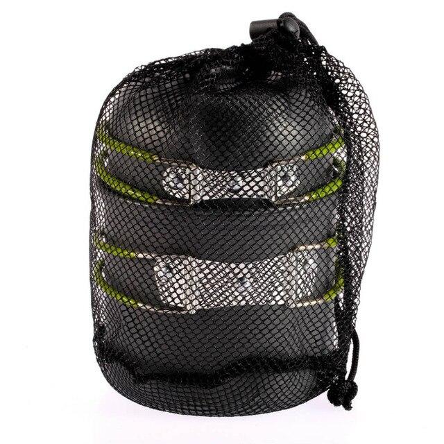 Stopu aluminium Składane Uchwyty Garnków Zewnątrz Pan Camping Piesze Wycieczki Plecakiem Gotowanie Piknik Miska Pot