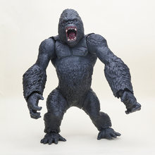 Super BIG ! King Kong Action Figure king kong skull island Chimpanzee Model Action Figure Collectible Model Toy Gift 36cm(China)