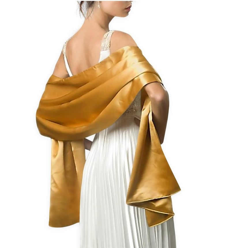 ALI shop ...  ... 32961025101 ... 3 ... 2019 New Arrival Women Evening Wraps Shawls 200*45cm Satin Long Formal Wedding Party Ladies Bolero ...