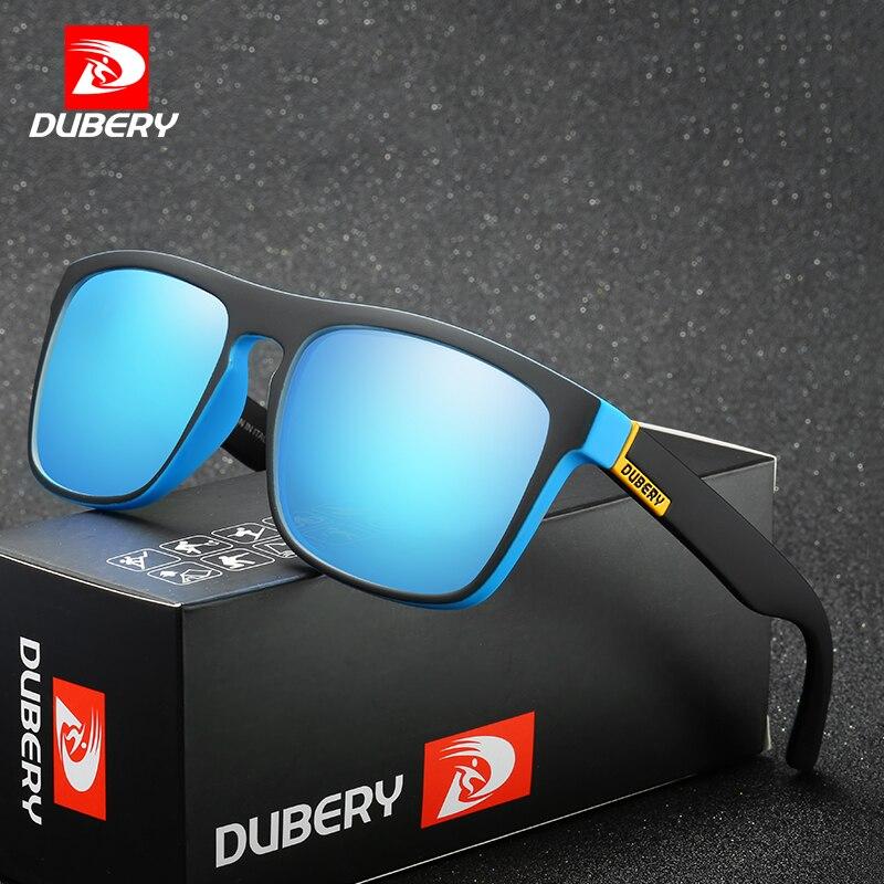 DUBERY Aviação Óculos Polarizados dos homens de Condução Shades Óculos de Sol Masculinos Para Homens Retro Baratos 2017 Marca de Luxo Designer de Oculos