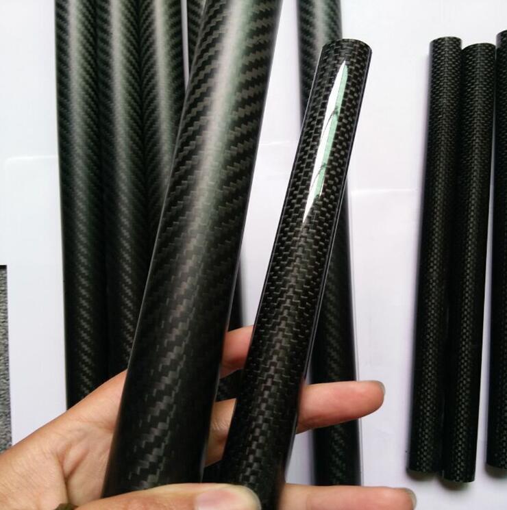 3K Glossy / Matte Full Carbon Fiber Tube 500mm length Dia. 16*12/16*13/16*14/16*15/17*15/18*14/18*16/18*17/19*15/19*16/19*17 iwona 12 14 16