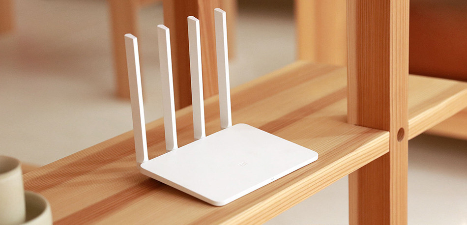 Original Xiaomi Mi Router 3 summary-design-bg