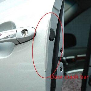 Image 3 - 8Pcs/Set Universal Car Door Guard Edge Corner Bumper Buffer Trim Molding Protection Strip Scratch Protector Auto Crash Bar