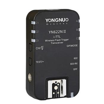1pcs YONGNUO TTL Transceiver i-TTL 2.4G Wireless Flash Trigger YN622N II HSS 1/8000 For Nikon DSLR Camera Speedlite SB910 SB900