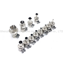 Universal Hot Air Gun Nozzles 12PCS Each Kind Specification Kit BGA Soldering Station Rework Stations Nozzle Welding Accessories