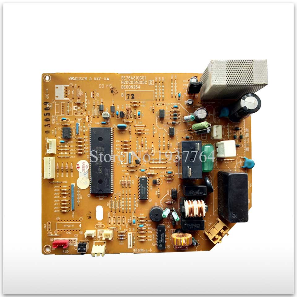 95% new for Air conditioning computer board circuit board SE76A810G01 H2DC051G05C DE00N264 good working new air conditioning compressor 20y 810 1260 for new pc200 8 pc220 8