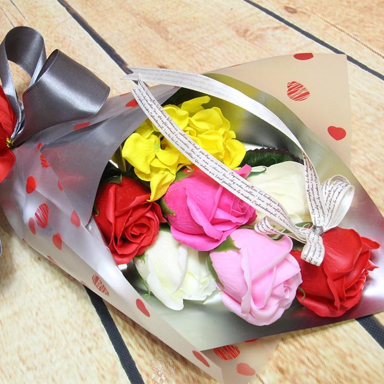 Coréenne fleur fleur savon emballage Zhahua Coréenne petit bouquet de petit bouquet bouquet cadeau De Noël cadeau