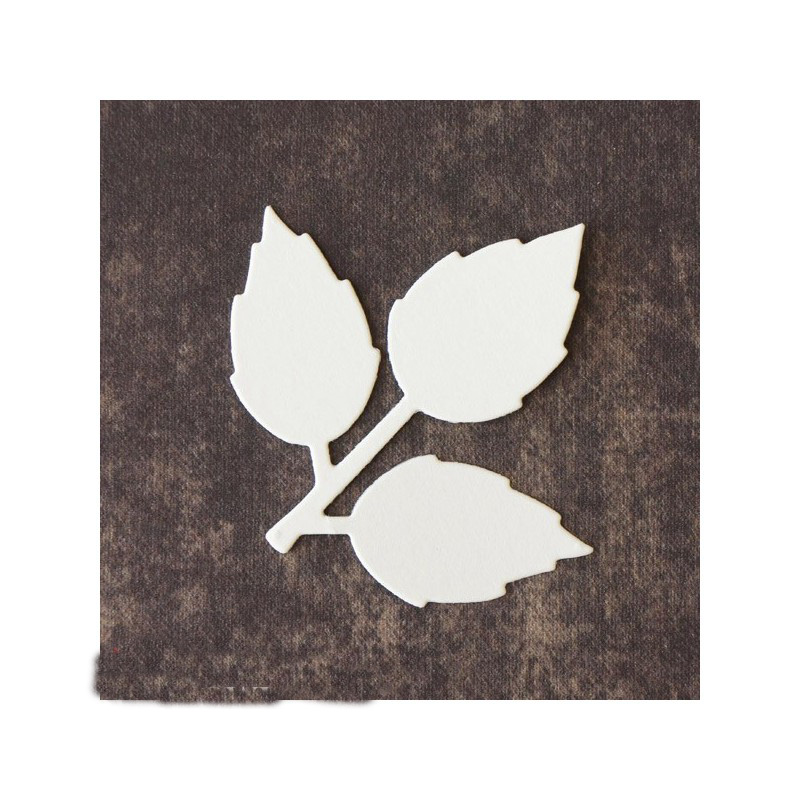 quot Leaf quot Metal Cutting Die DIY Scrapbooking Paper Card Album Photo Making Embossing Handicraft Decoration Stencil Template in Cutting Dies from Home amp Garden