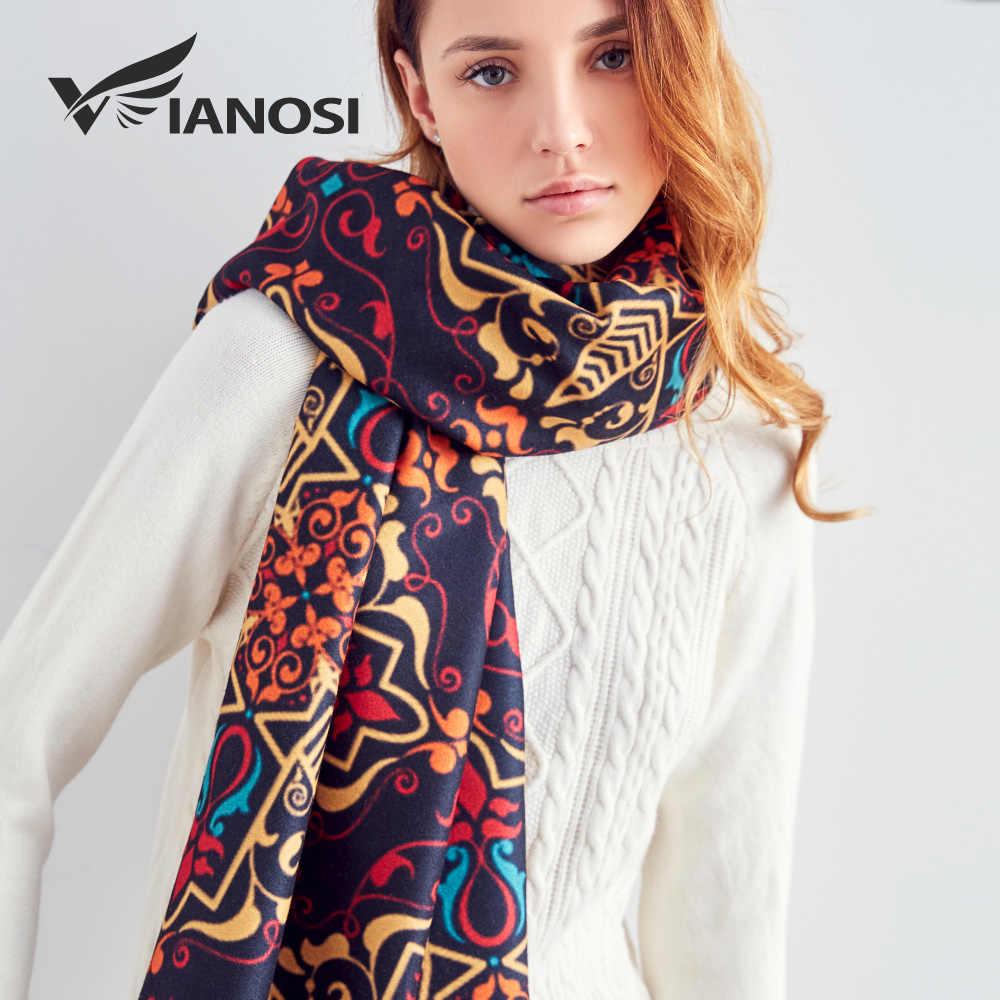7dde7a90521 [VIANOSI] Print Wool Scarf Women Shawl and Scarves Fashion Warm Winter Scarf  Luxury Foulard