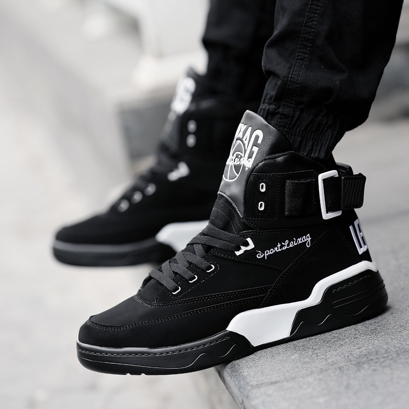 Skateboarding Shoes Leather Suede Calfskin Lace Up Breathable Wearable Sport Shoes Women Sneakers