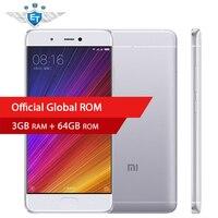 Original Xiaomi Mi5S Mi 5s 3GB 64GB Smartphone 5.15'' 1920x1080 Snapdragon 821 Quad Core 12MP IMX 378 Camera Fingerprint ID NFC