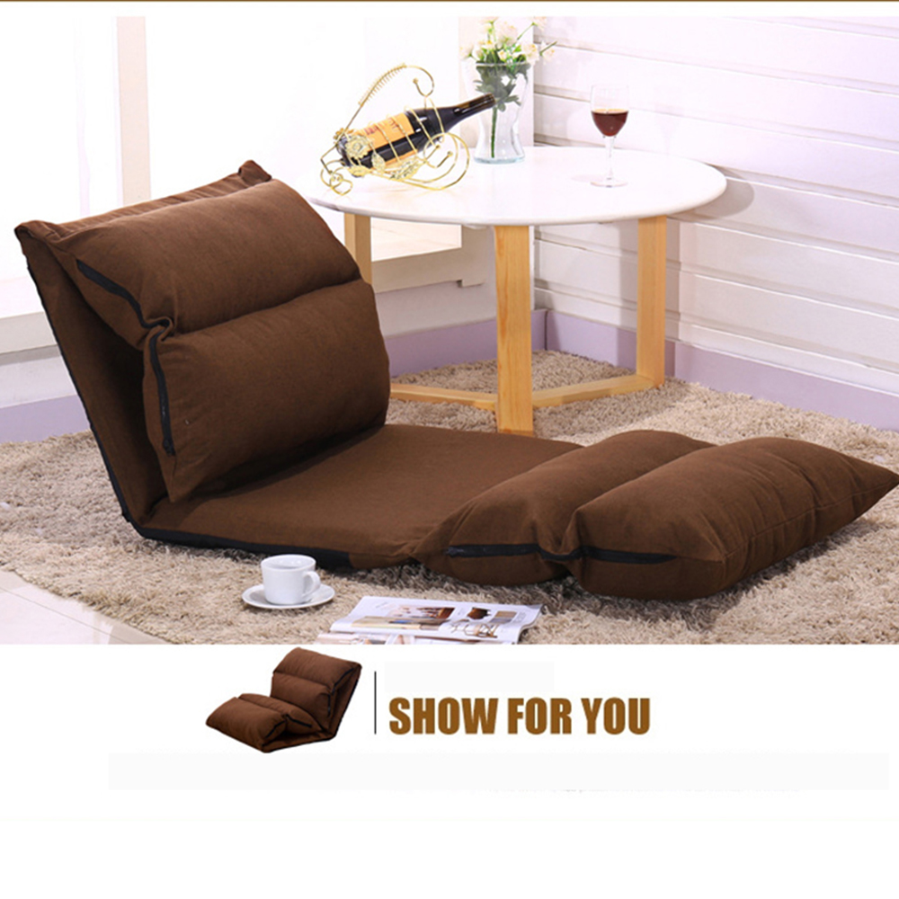 2018 Folding Sofa Bed Furniture Living Room Modern Lazy Couch Floor Gaming Chair Sleeping All 4 Lounge Chai In Office Sofas From