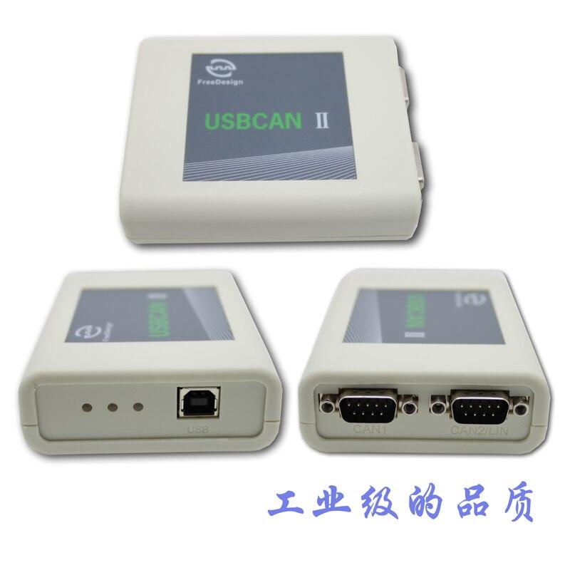 Grado industriale USBCAN2/IICAN analyzer, CANOpen, J1939, DeviceNet, USB, PUÒ - 4