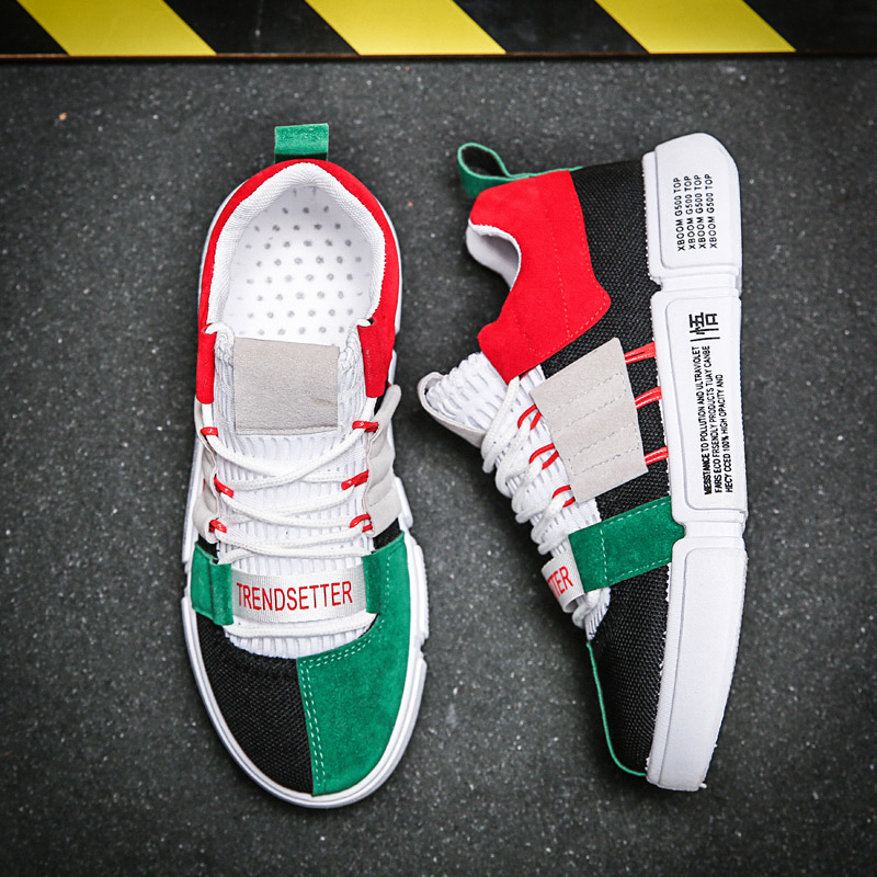 BomKinta New Colorful Casual Shoes Men