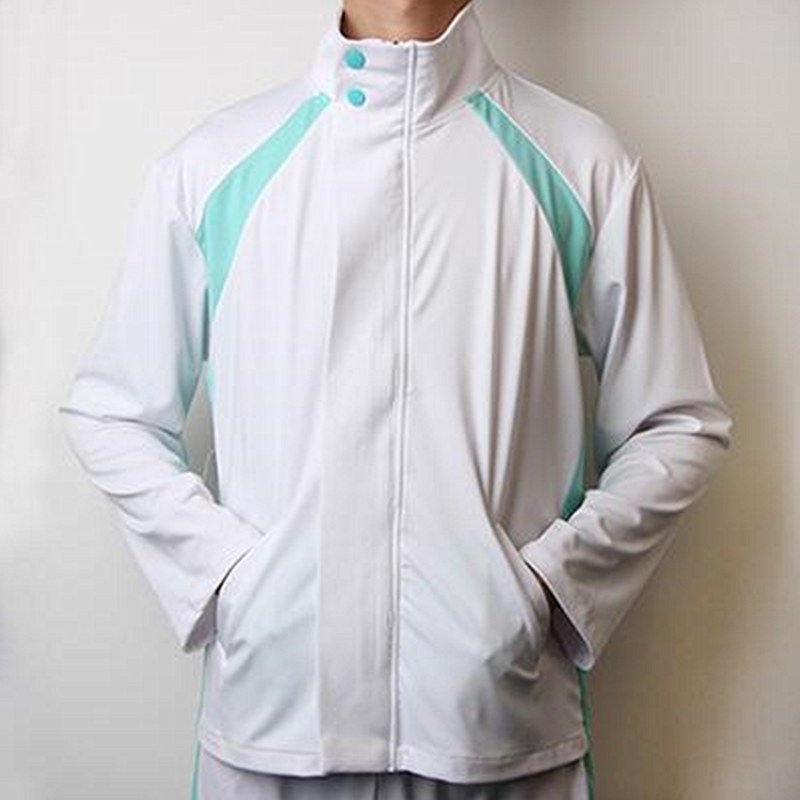 Haikyuu!! Aoba Johsai High School Jersey Cosplay Costume Haikiyu Oikawa Tooru School Uniform Jacket Sprotswear Anime Halloween