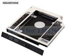 NIGUDEYANG 2nd 2,5 HDD Disco Duro SSD Caddy adaptador para HP Compaq Presario CQ70 CQ71 CQ60 CQ61(China)