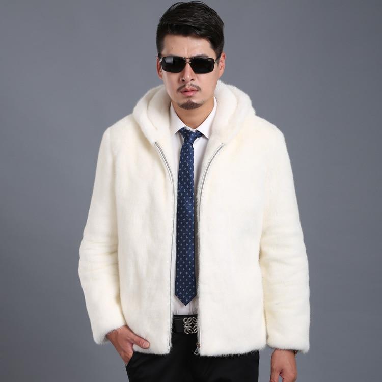 Ropa Visón Los La Cremallera Moda Invierno De Nuevos Con Piel Imitación Hombre 6xl Hombres S Abrigo Capucha xqAOwYI7xU