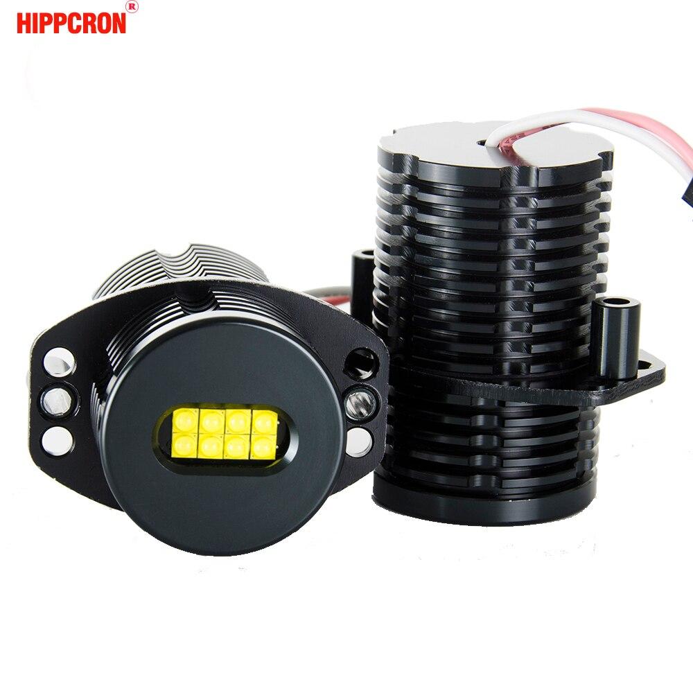 Hippcron светодиодный Ангельские глазки маркер 2*80 Вт 160 Вт для CREE ХТЕ светодиодный чипы ксенон белый 7000 К для BMW E91 E90 2 шт. (1 компл.)
