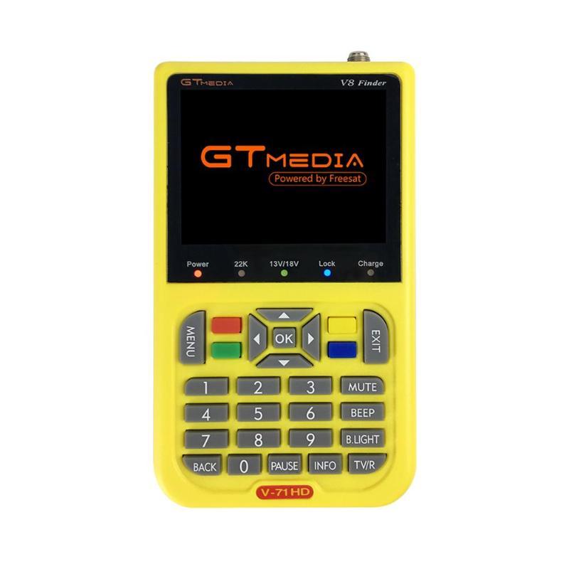 GTmedia V8 Finder HD DVB-S2 détecteur de Satellite numérique haute définition MPEG-4 DVB S2 Satellite compteur 1080 P
