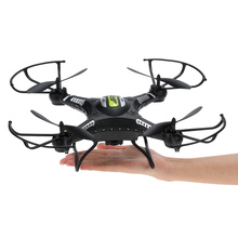 JJRC H8CH 2.4G 4CH 6-axis Gyro RC Drones with 2.0MP HD Camera RTF RC Quadcopter with 3D-flip Set-height Mode LED VS JJRC H8C