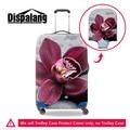 Dispalang 3d bonito da cópia floral estiramento elastic trolley de viagem mala bagagem capa protetora capas de chuva tampa washproof