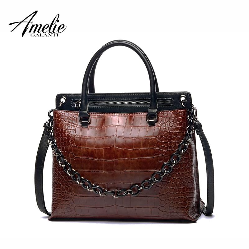 AMELIE GALANTI новый горячий продавать leopard молнии жесткий щитка сумка из Экологичный PU материал благодать элегантный натурального хлопка 2 цвета ...