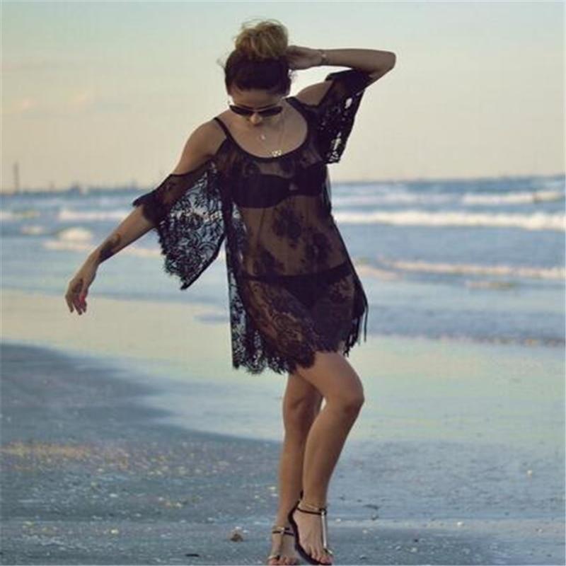 2016 женщины пляж платье сексуальный ремень