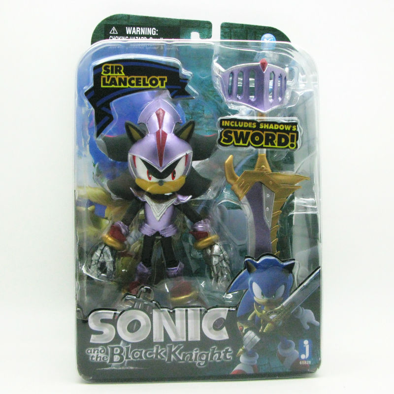 1pc  SIR LANCELOT Sonic and the Black Knight 5 inch shadow Action Figure Jazwares 2013