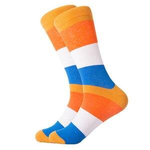 Image 5 - Chaussettes homme 12 paires/lot Calcetines Hombre mode cadeau de mariage chaussettes décontractées homme pour automne hiver chaud cadeau de noël
