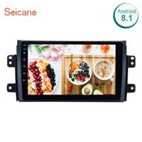 Seicane 9 Android 6,0/7,1/8,1 автомобиль радио для 2006 2012 Suzuki SX4 2Din gps навигации мультимедийный плеер Поддержка DVR AUX OBD2