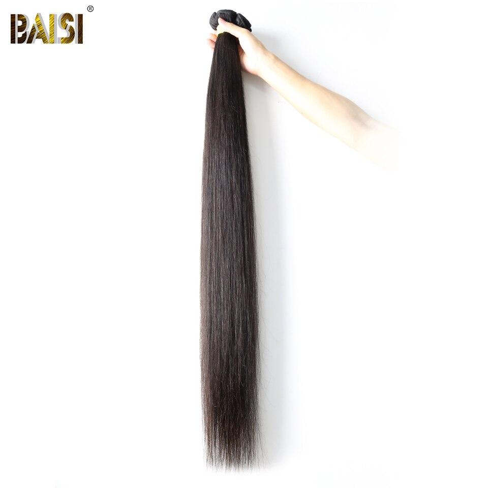 Baisi Cheveux Usine Vierge Péruvienne Cheveux Raides Plus Longue Longueur 28 30 32 34 36 38 40 42 pouce 100% Humains cheveux Armure