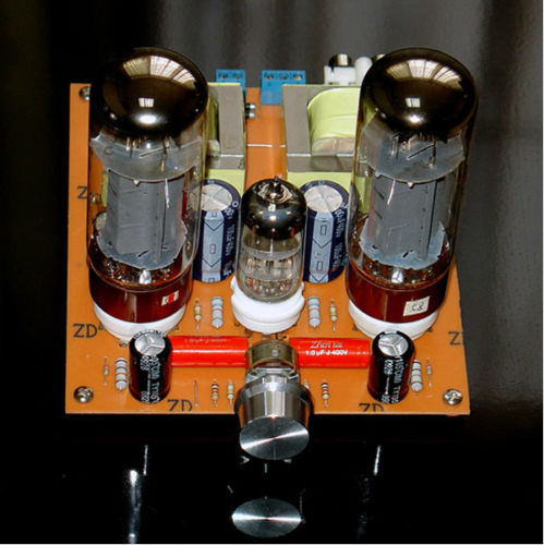 6N2+EL34 Tube Amplifier HiFi Single-ended Class A amp Board DIY Kit hifi stereo 6n2 6p1 single ended class a tube amplifier amp board diy kit