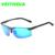 Marca veithdia recubrimiento de conducción espejo de aluminio y magnesio gafas de sol polarizadas de los hombres gafas de sol oculos hombres gafas 6511
