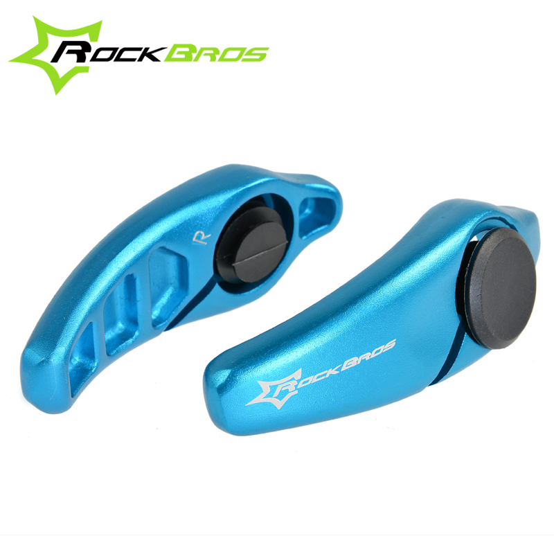 Details about  /RockBros Rubber Bicycle Handlebar Ends MTB Mountain Bike Bar Ends Cycling Grips